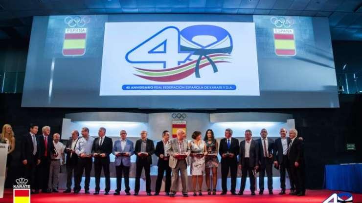 40 aniversario de la RFEK